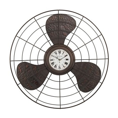 Elk Lighting  Antique Fan Clock (RTL175572)