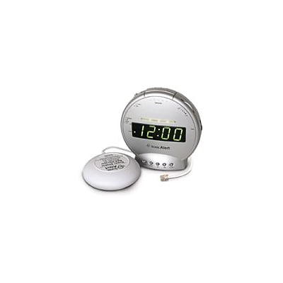 Sonic Alert  Alarm Clock with Phone Signal and Vibrator (SOAL017)