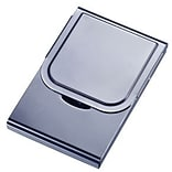 Visol  Arew Large Size Gunmetal Business Card Case (VISOL1594)
