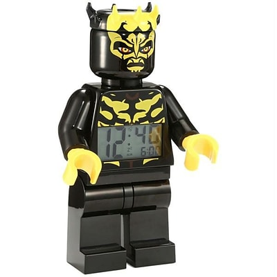 Lego Media  LEGO Kids in. Star Wars Savage 9.5 Minifigure Alarm Clock (XS212418)