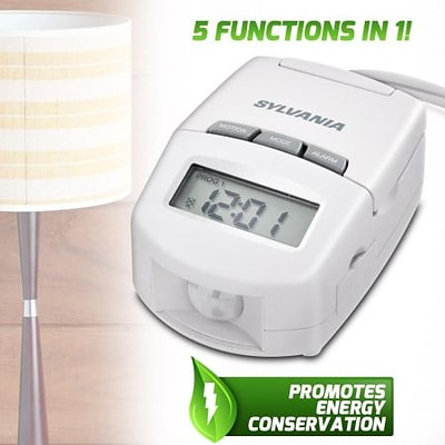 Sylvania  Amp Table-Top Timer with Motion Sensor and Alarm (XS312962)