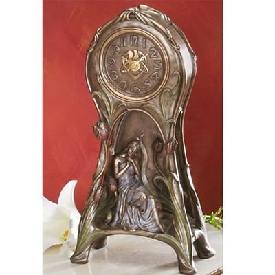 YTC SUMMIT  Art Nouveau - Tulip Clock - C-6 (YTCS0488)