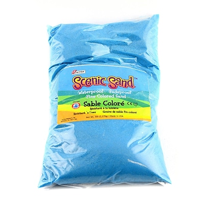 Activa Products Scenic Sand Light Blue 5 Lb. Bag [Pack Of 2] (2PK-4555)