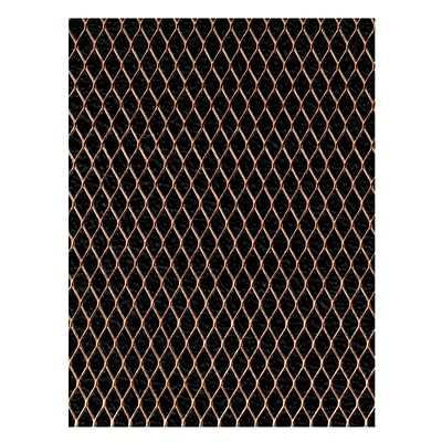 Amaco Wireform Metal Mesh Copper Woven Form Mesh - 1/4 In. Pattern Mini-Pack (50008H)