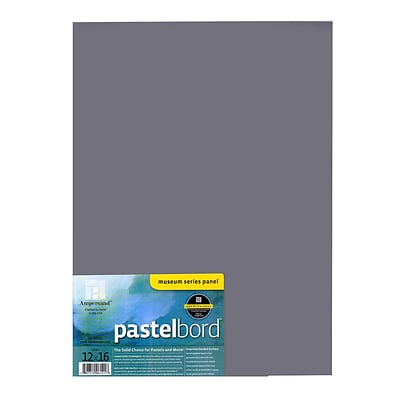 Ampersand Pastelbord 12 In. X 16 In. Gray Each (PB12)
