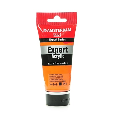 Amsterdam Expert Acrylic Tubes Cadmium Orange 75 Ml [Pack Of 2] (2PK-100515316)