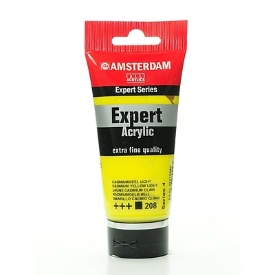 Amsterdam Expert Acrylic Tubes Cadmium Yellow Light 75 Ml [Pack Of 2] (2PK-100515314)