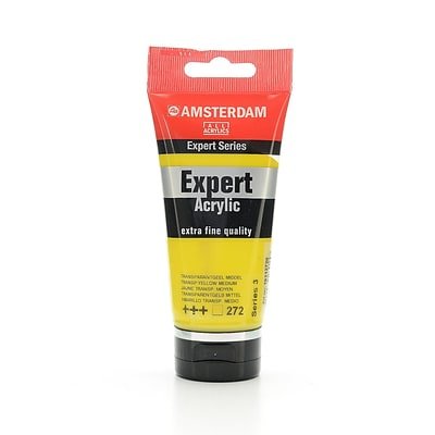 Amsterdam Expert Acrylic Tubes Transparent Yellow Medium 75 Ml (100515327)