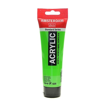 Amsterdam Standard Series Acrylic Paint Brilliant Green 120 Ml [Pack Of 3] (3PK-100515188)