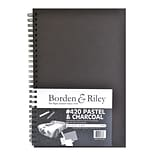 Borden  And  Riley 420 Charcoal/Pastel Paper 6 In. X 9 In. 40 Sheets (420B060940)