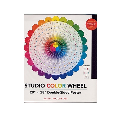Fabulous C And T Studio Color Wheel Each Pack Of 2 2Pk 20147 Interior Design Ideas Tzicisoteloinfo
