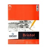 Canson Foundation Bristol Pads, Vellum, 11 In. x 14 In., Pack Of 2 (2PK-100511018)