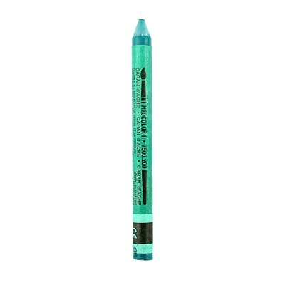 Caran DAche Neocolor Ii Aquarelle Water Soluble Wax Pastels Bluish Green [Pack Of 10] (10PK-7500-0200)