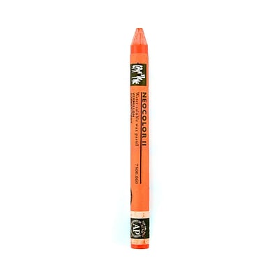 Caran DAche Neocolor Ii Aquarelle Water Soluble Wax Pastels Vermillion [Pack Of 10] (10PK-7500-060)