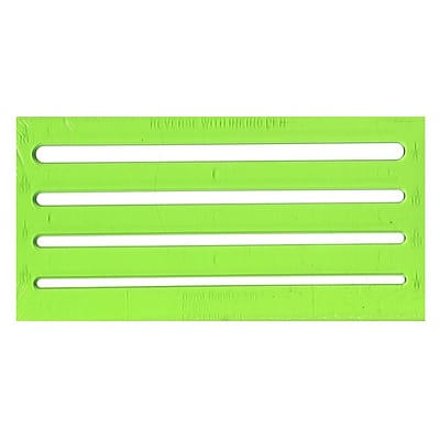 Chartpak Rapidesign Lettering Guides Lettering Aid 1/8 In. , 5/32 In. , 3/16 In. , 1/4 In. (R925)