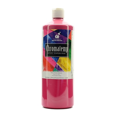 Chroma Inc. Chromatemp Artists Tempera Paint Magenta 32 Oz. (2604)