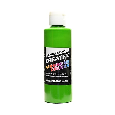 Createx Airbrush Colors Transparent Leaf Green 4 Oz. [Pack Of 3] (3PK-5115-04)