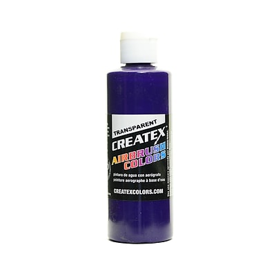 Createx Airbrush Colors Transparent Red Violet 4 Oz. [Pack Of 3] (3PK-5103-04)