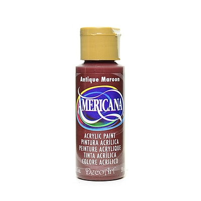 Decoart Americana Acrylic Paints Antique Maroon 2 Oz. [Pack Of 8] (8PK-DA160-3)