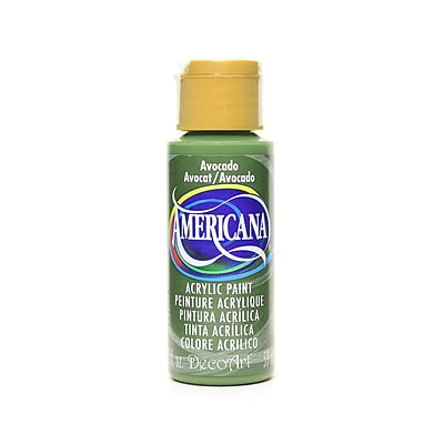 Decoart Americana Acrylic Paints Avocado 2 Oz. [Pack Of 8] (8PK-DA52-3)