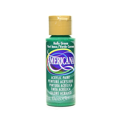 Decoart Americana Acrylic Paints Holly Green 2 Oz. [Pack Of 8] (8PK-DA48-3)