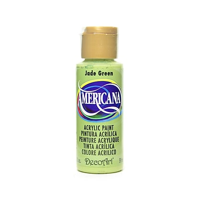 Decoart Americana Acrylic Paints Jade Green 2 Oz. [Pack Of 8] (8PK-DA057-3)