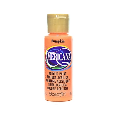Decoart Americana Acrylic Paints Pumpkin 2 Oz. [Pack Of 8] (8PK-DA13-3)