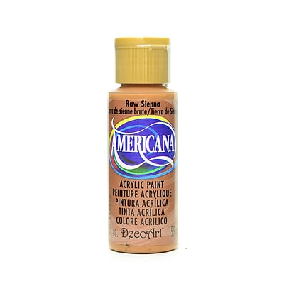 Decoart Americana Acrylic Paints Raw Sienna 2 Oz. [Pack Of 8] (8PK-DA93-3)