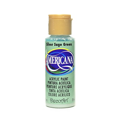 Decoart Americana Acrylic Paints Silver Sage Green 2 Oz. [Pack Of 8] (8PK-DA149-3)