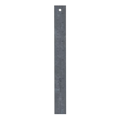 Gaebel 605 Series Stainless Steel Rulers 18 In. (605 18)