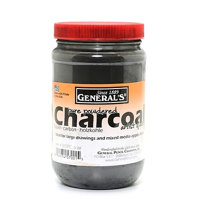 GeneralS Powdered Charcoal 6 Oz. (570PC)