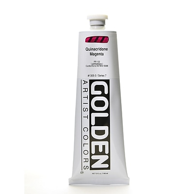 Golden Heavy Body Acrylics Quinacridone Magenta 5 Oz. (1305-3)