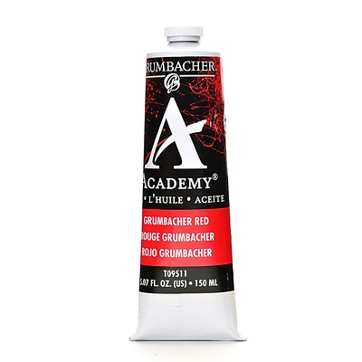 Grumbacher Academy Oil Colors Grumbacher Red 5.07 Oz. [Pack Of 2] (2PK-T095-11)