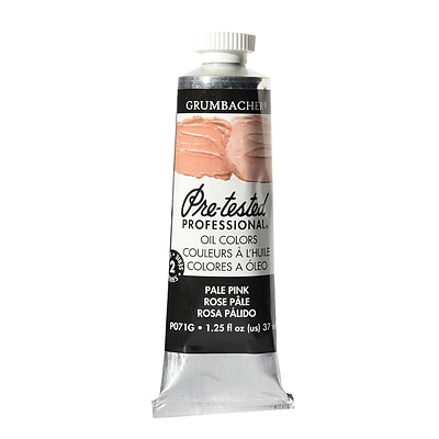Grumbacher Pre-Tested Artists Oil Colors Flesh Hue P071 1.25 Oz. [Pack Of 2] (2PK-P071G)