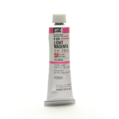 Holbein Artist Oil Colors Light Magenta 40 Ml (H339)