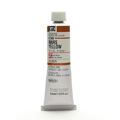 Holbein Artist Oil Colors Mars Yellow 40 Ml (H349)