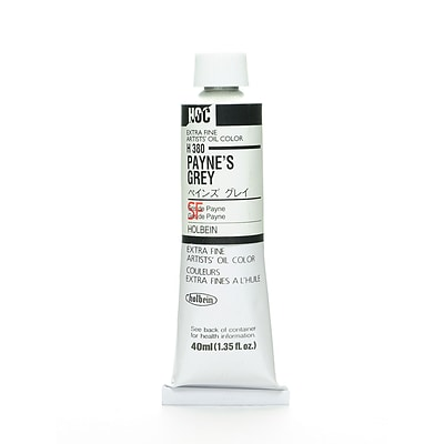 Holbein Artist Oil Colors PayneS Grey 40 Ml [Pack Of 2] (2PK-H380)