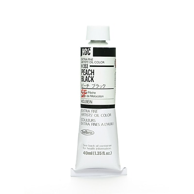 Holbein Artist Oil Colors Peach Black 40 Ml [Pack Of 2] (2PK-H353)