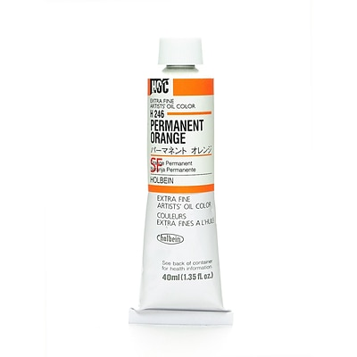 Holbein Artist Oil Colors Permanent Orange 40 Ml [Pack Of 2] (2PK-H246)