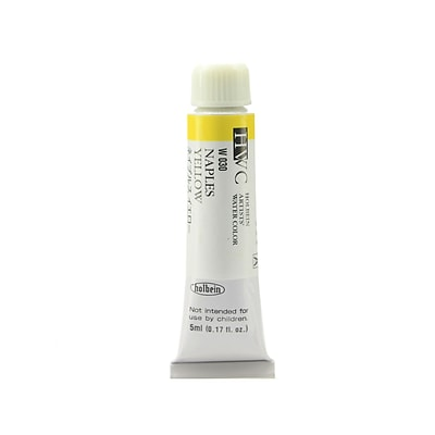 Holbein Artist Watercolor Naples Yellow 5 Ml [Pack Of 2] (2PK-W030)