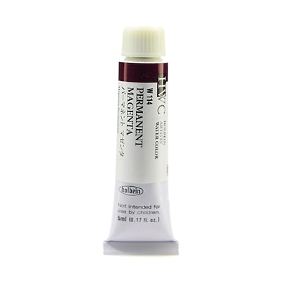 Holbein Artist Watercolor Quinacridone Violet 5 Ml [Pack Of 2] (2PK-W120)