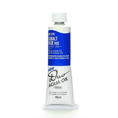 Holbein Duo Aqua Artist Oil Color Cobalt Blue Hue 40 Ml [Pack Of 2] (2PK-DU275)