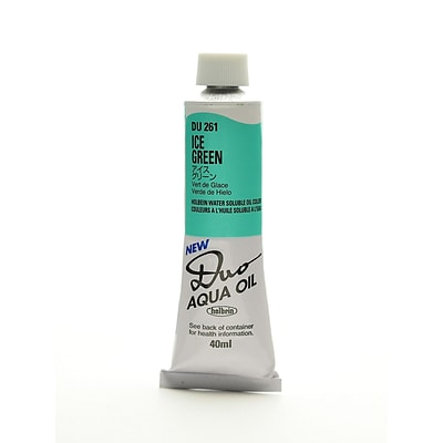 Holbein Duo Aqua Artist Oil Color Ice Green 40 Ml (DU261)