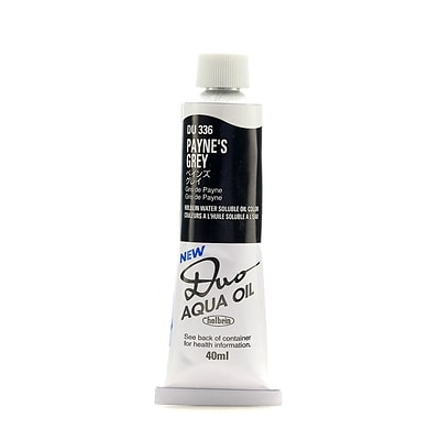Holbein Duo Aqua Artist Oil Color PayneS Grey 40 Ml [Pack Of 2] (2PK-DU336)