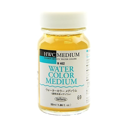 Holbein Watercolor Medium 55 Ml [Pack Of 2] (2PK-W462)