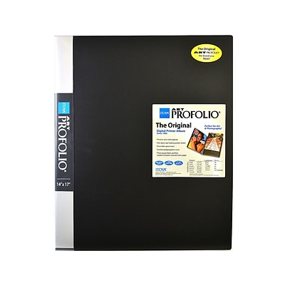 Itoya Art Profolio Storage/Display Book 14 In. X 17 In. 24 (IA-12-14)