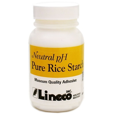 Lineco Pure Rice Starch Adhesive 2 Oz. Bottle [Pack Of 2] (2PK-L615-1502)