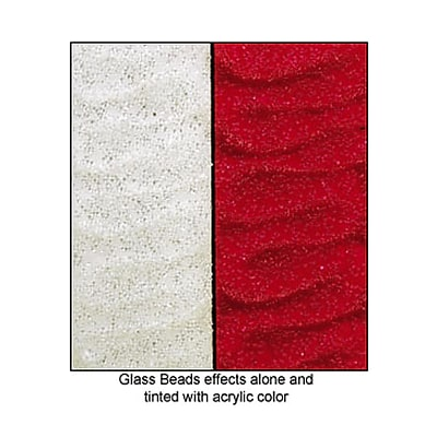 Liquitex Acrylic Texture Gel Mediums Glass Beads 8 Oz. [Pack Of 2] (2PK-6908)