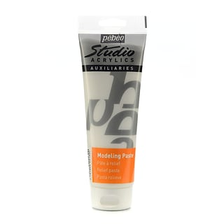Pebeo Studio Acrylics Modeling Paste 250 Ml Tube [Pack Of 2] (2PK-524130)
