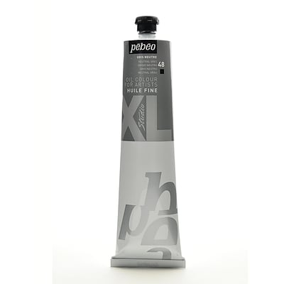 Pebeo Studio Xl Oil Paint Neutral Gray 200 Ml [Pack Of 2] (2PK-200048)